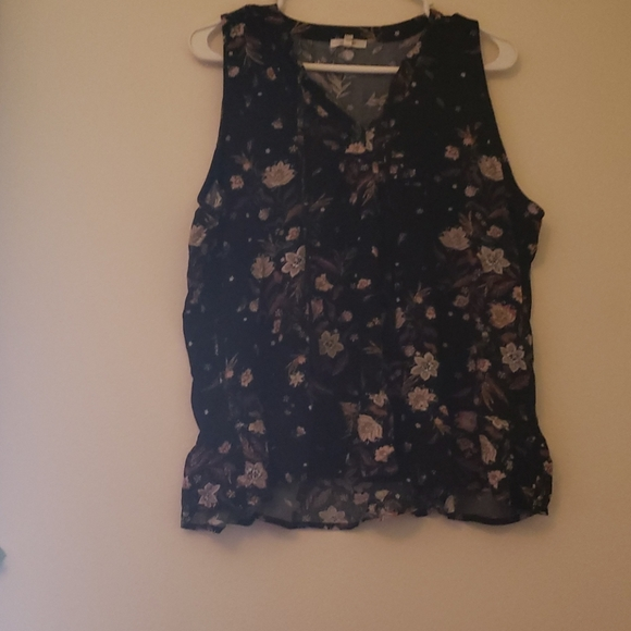 Maurices tank top with strings